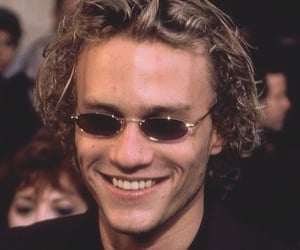 90s, heath ledger, and heath image