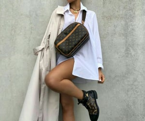 fashion, Louis Vuitton, and outfit image