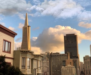 pretty, san francisco, and sky image