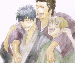 gintama, shinsengumi, and kondo image
