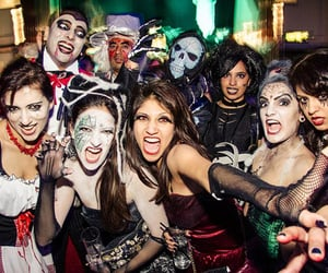 Halloween, party, and déguisement image