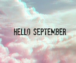 paradise, hello september, and sky image