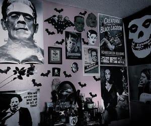 bats, bedroom, and bedroom decor image