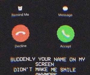 break up, broken heart, and call image