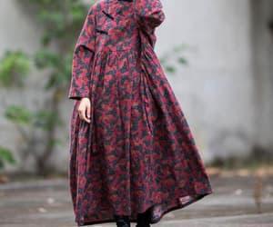 etsy, cotton dress, and full length dress image
