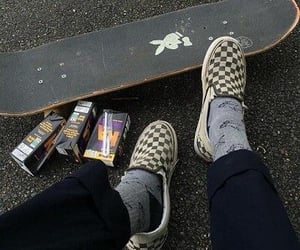 aesthetic, skateboard, and Playboy image