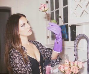 lana del rey, Queen, and roses image