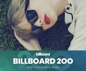 billboard, Taylor Swift, and most popular álbum image