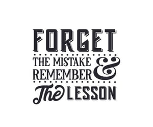 &, mistake, and words image