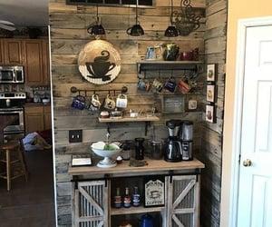 decoracion, coffee bar, and farm home image