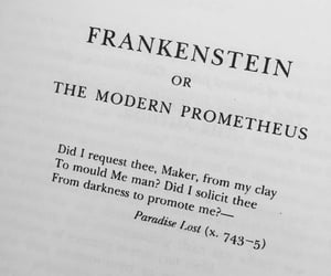 mary shelley, book, and Frankenstein image