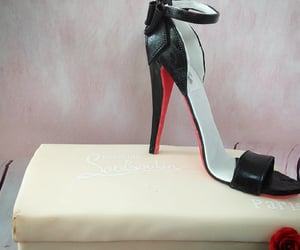 birthday, cake, and christian louboutin image