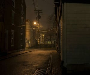 aesthetic, alley, and dark image