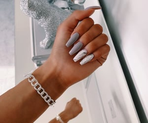 beauty, silver, and tumblr image