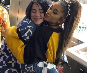 ariana grande, billie eilish, and coachella image