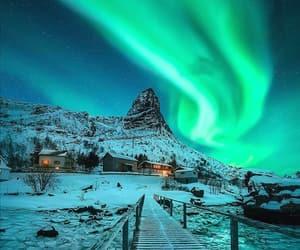 aesthetic, aurora borealis, and home image