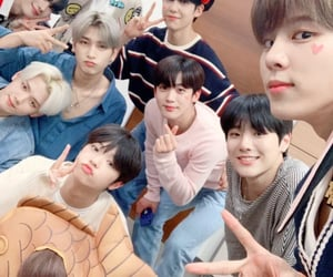 x1, minhee, and yohan image