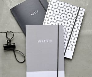 notebook, school, and stationery image