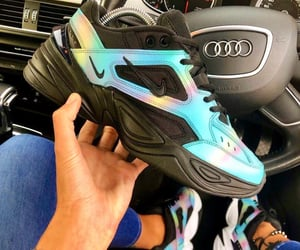 audi, nike, and shoes image