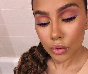make up on fleek, eyebrows eyebrow, and goal goals life image
