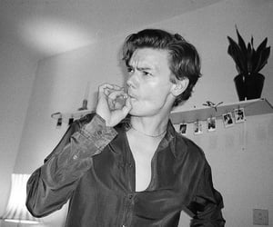 actor, fashion, and smoking image