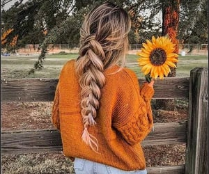 autumn, farm, and fashion image