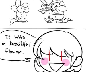 comic, flower, and lol image