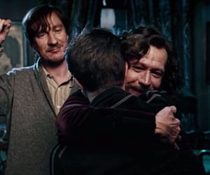 harry potter, remus lupin, and magic image