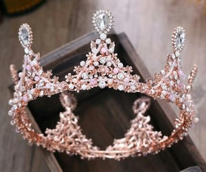 accessories, crown, and fashion image