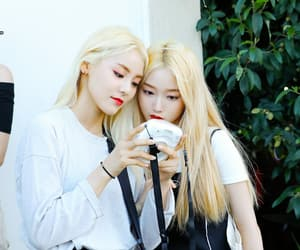jinsoul, go won, and loona image
