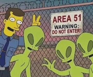 meme, warning, and area51 image