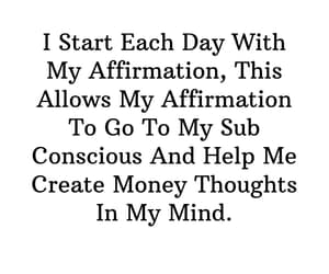 affirmation, fortunes, and morning image