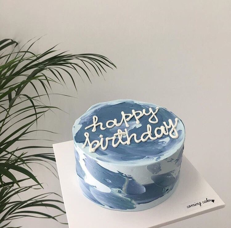 cake, blue, and aesthetic image