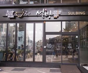 cafe, seoul, and sweet image