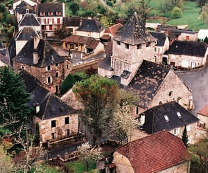 village and france image