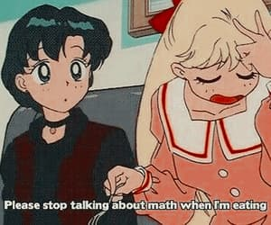 sailor moon, anime, and math image