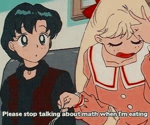 sailor moon, anime, and math image