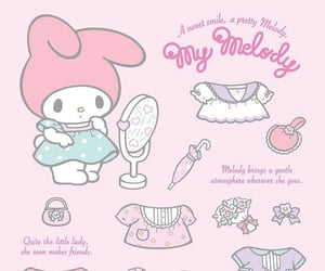 aesthetic, girls, and my melody image