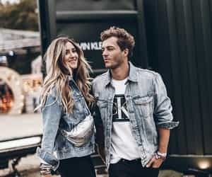 bloggers, Calvin Klein, and couple image