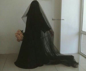 beauty, hijab, and love image