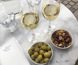 drink, marble, and food image