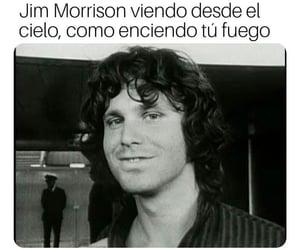 Jim Morrison, memes, and rock image
