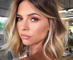 beauty, haircut, and makeup image