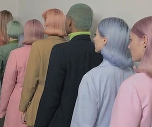 aesthetic, pastel, and hair image