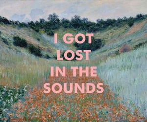 sound, art, and lost image