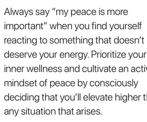 peace, quote, and self love image