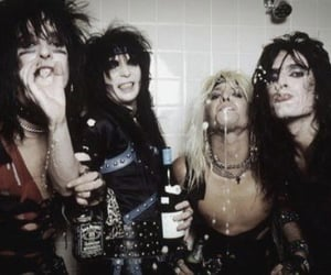 motley crue, vince neil, and mick mars image