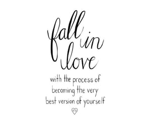 be better, cursive, and fall in love image