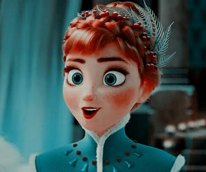 anna, frozen, and icon image