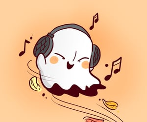 undertale and napstablook image